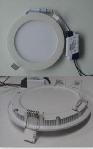 Ultra Slim Recessed LED Panel Light Round 3W-24W