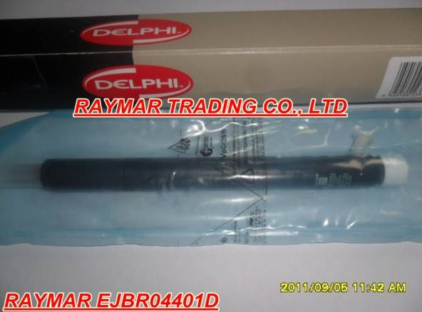 Delphi common rail injector EJBR04401D for SSANGYONG A6650170221