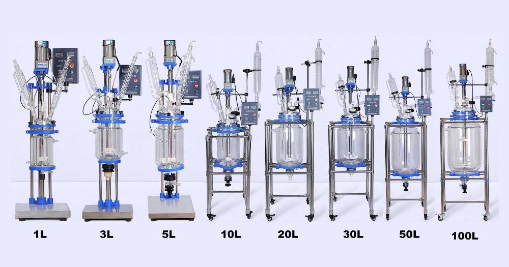 High Quality Glass Ractor for Chemical Experiment