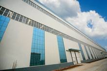 Modern design steel structure shopping mall