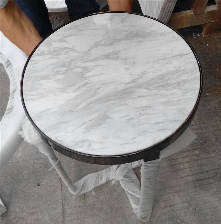 White Ariston Marble Table Tops