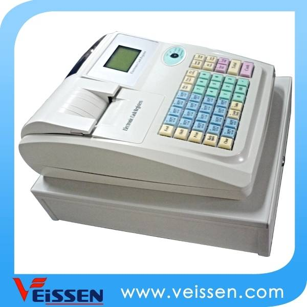 Electronic cash register with free pos roll from factory