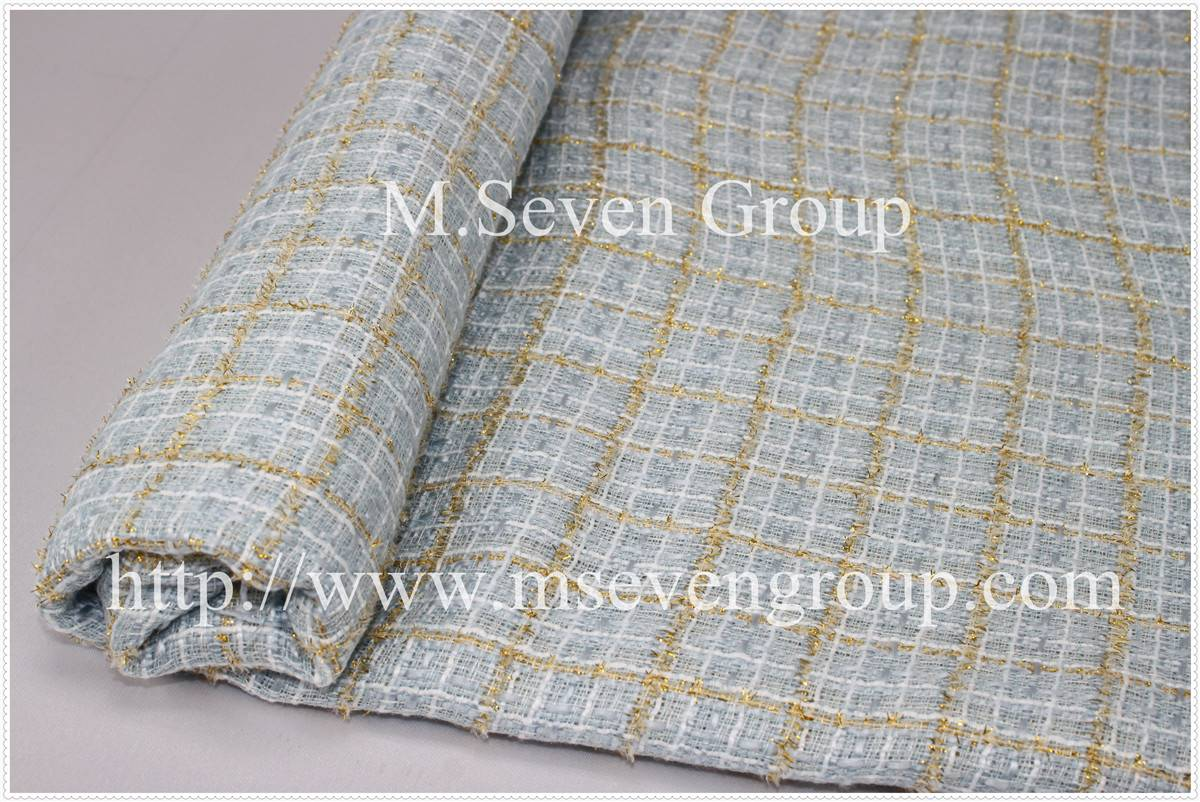 Tweed fabric for women winter coats