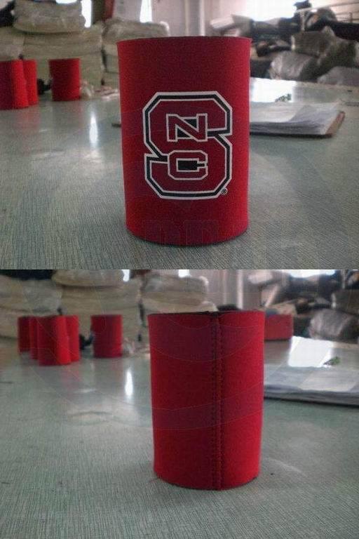 Cylinder with bottom/base neoprene can/stubby/bottle cooler/holder