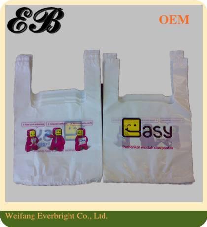 PE T-shirt Shopping Bag Vest Packing Bag Plastic Bag