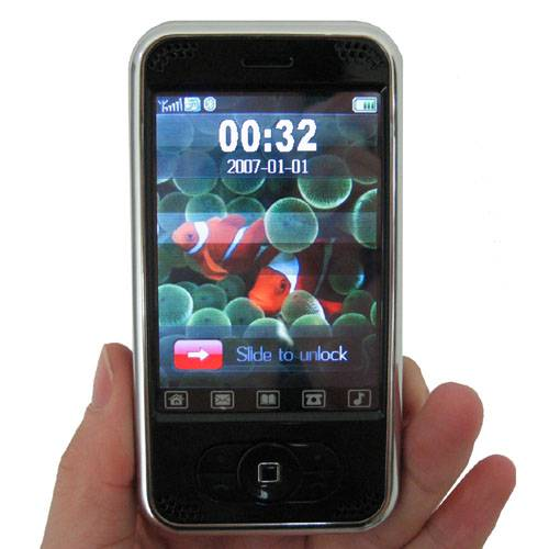 Good Quality Dual SIM Touch Screen Mobile CECT-P168 plus