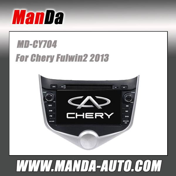 Manda 2 din car dvd gps for Chery Fulwin2 2013 indash sat nav touch screen dvd satellite radio