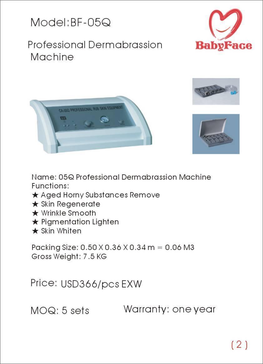 Professional Dermabrassion Machine