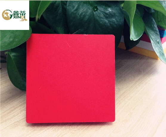 red High density PVC foam board/sheet/panel for advertising and sign board