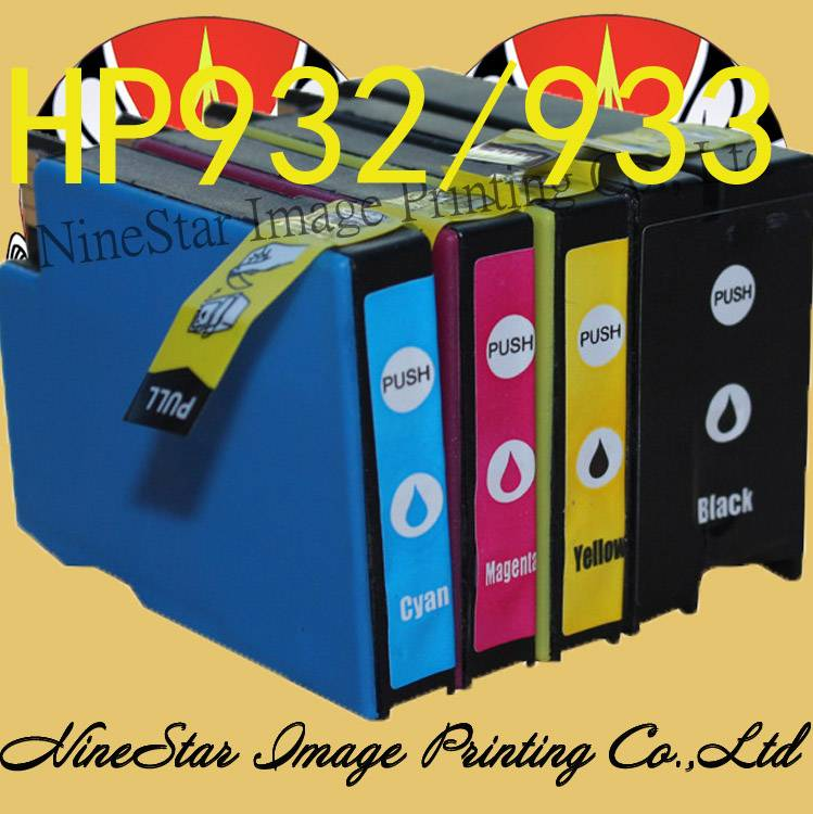 Compatible Ink Cartridge for HP 932 933 Printer Ink.