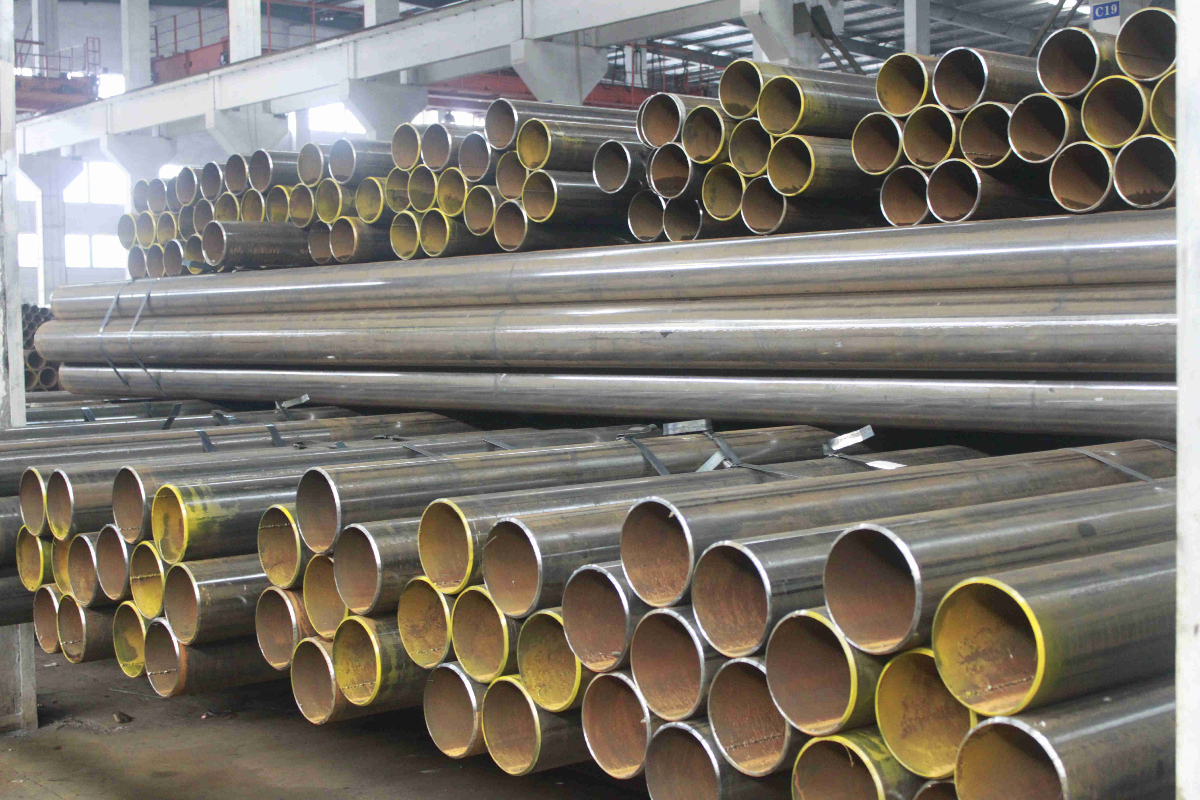 Seamless Steel Pipes for Gas Cylinder 34CrMo4/ 37Mn