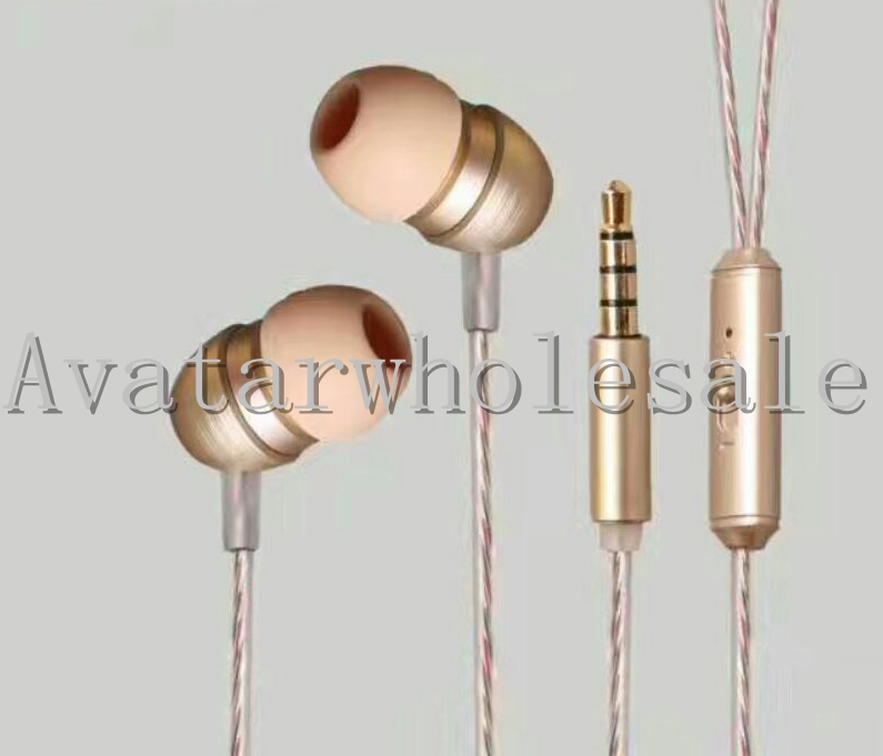 Magnetic suction metal headphone
