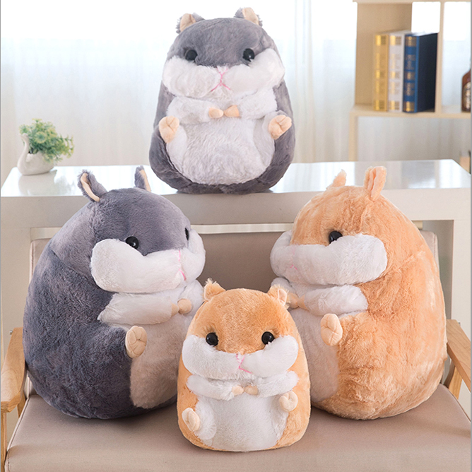 Fat hamster doll cute little mouse soft toys as gift DS-MU005