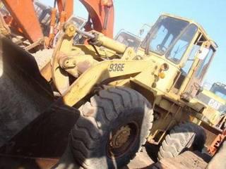 use CAT 936E wheel loader for sale, original bucket loader