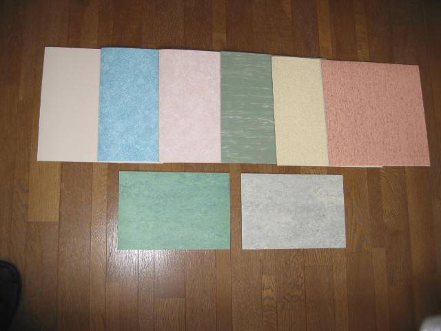 PVC flooring materials and the PVC wall decorating