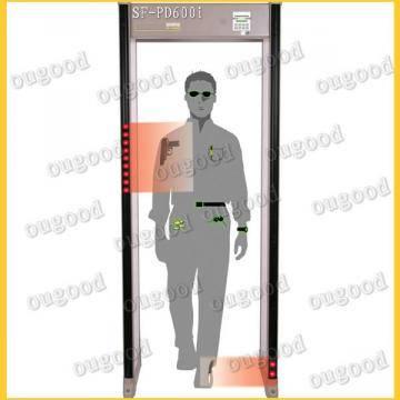Garrett PD 6500 i walk through metal detector