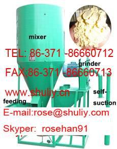 animal feed crusher and mixer machine