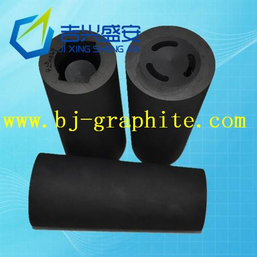 Hollow metal casting graphite mold
