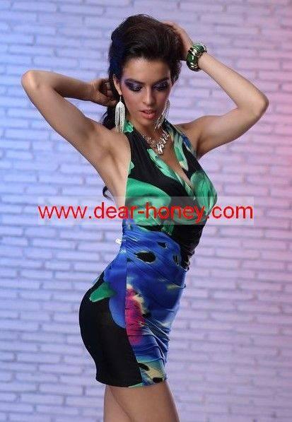 Sexy Backless Clubwear Mx-6080g