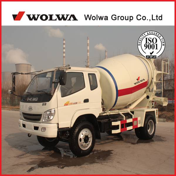 6cbm concrete mixer truck,construction machine