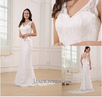 Romantic Lace Bridal Gowns--2015 New Collections