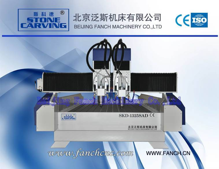 Offer Stone Two-spindle Engraving Machine Relief Engraving Machine