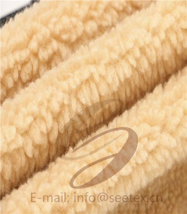 Sherpa faux fur/ fake fur