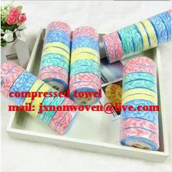 magic towel/100% cotton compressed towel