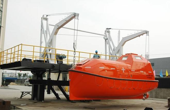 Free Fall Life Boat with latest price for hot sales