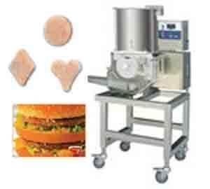 Burger patty forming machines