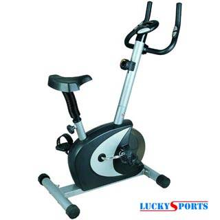 Magnetic Exercise Upright Bike, Mechanical Home Trainer, Exercise Cycle