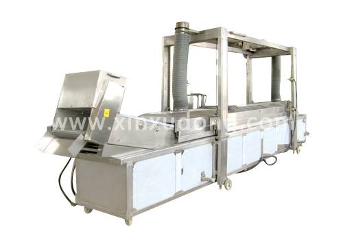 Instant noodles frying production line