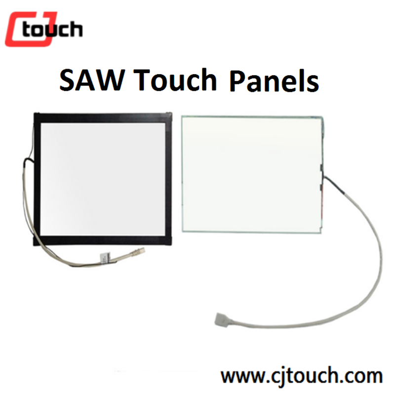 SAW Aluminum Outframe USB RS232 Touch screen Cheap lcd monitor touch screen panel