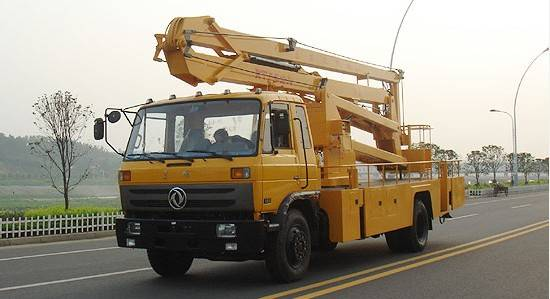 ISUZU high altitude operation truck from China