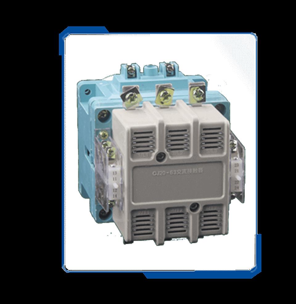 cj20 ac motor control 220v 380V coil voltage contactor