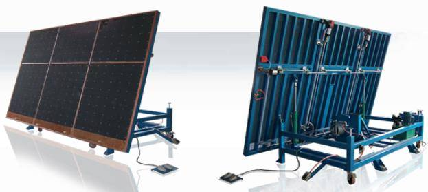 Tiltable Air Floatation Glass Breakout Table
