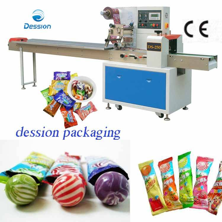 Multi-function Packaging Machine For Lollipop/ Candy Packing Machine
