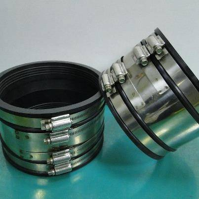 Band-Seal Coupling with Hi-Torque Hose Clamps