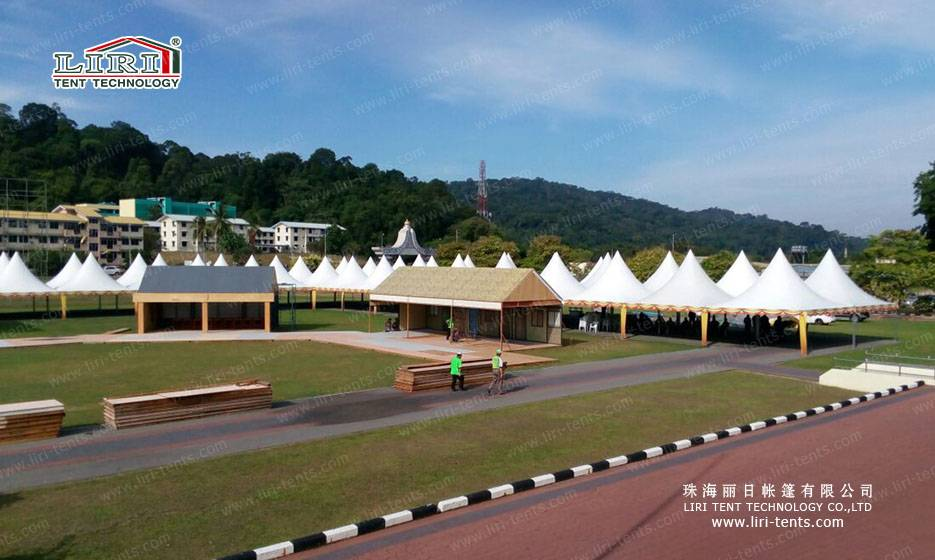 Easy Up Pagoda Tents for Festival and Parties