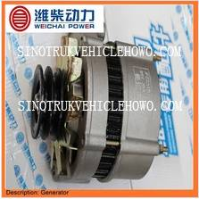 Weichai Engine Spare Parts Alternator