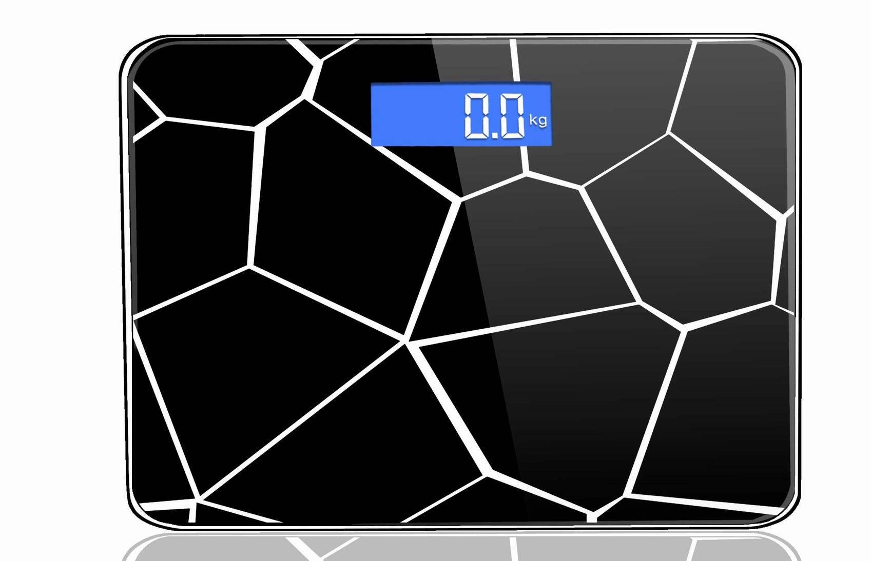 Water-cube Household Bathroom Digital Weighing Scale VBS129