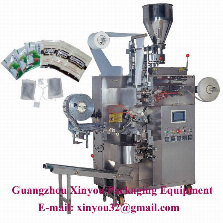 Automatic tea bag with outer bag packing machine