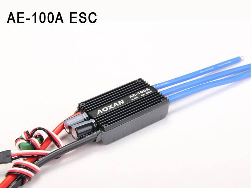 ESC100A Brushless Motors Electric Speed Controller ESC for RC airplane
