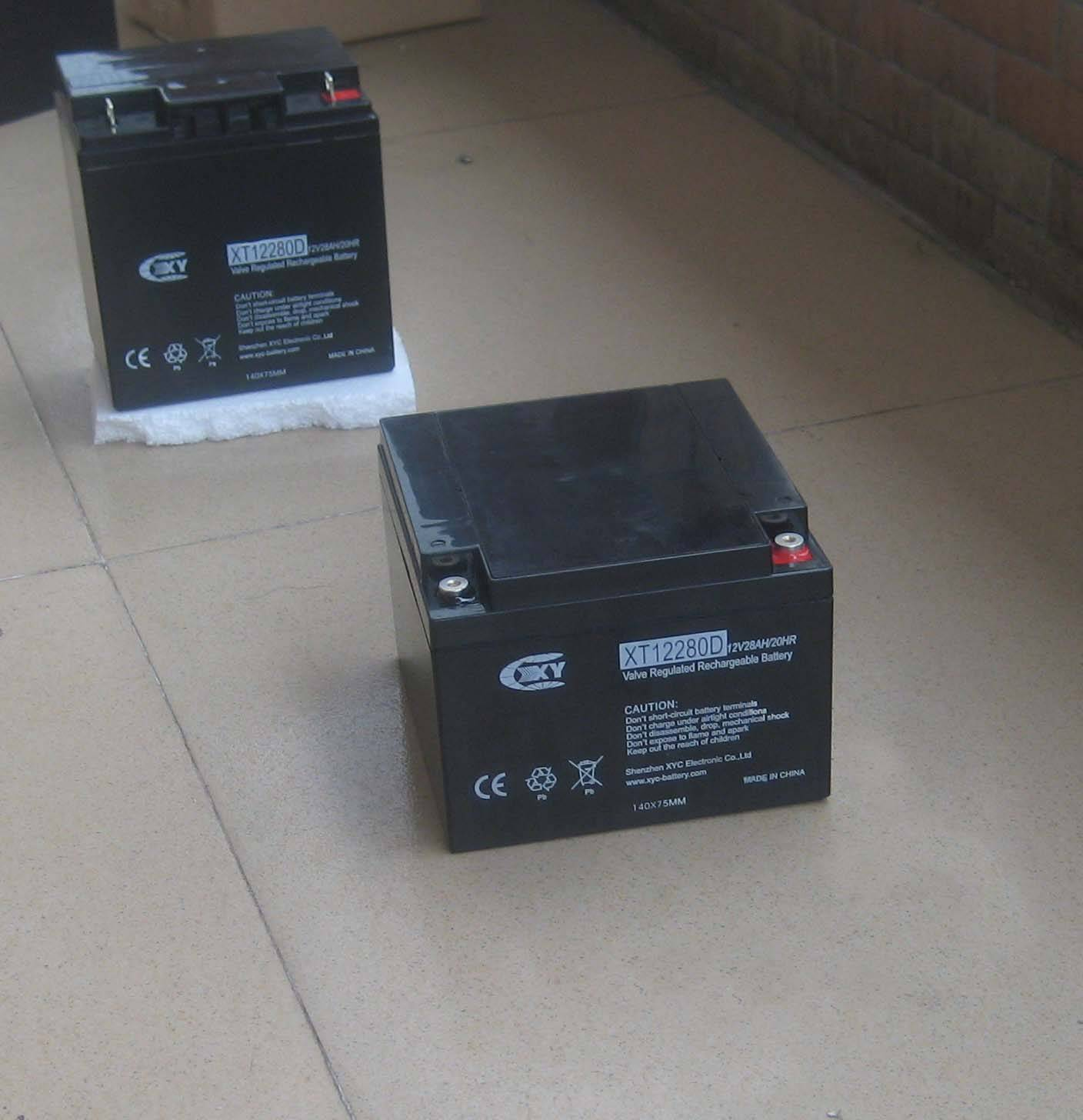 12V28AH lead acid battery for electric wheelchairs