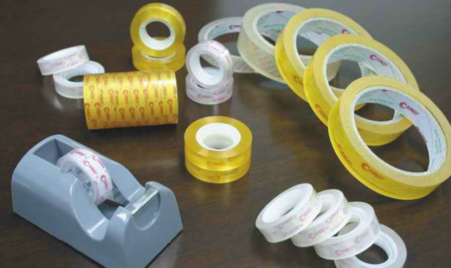 Adhesive Stationery Tape for School, Office and Home Use