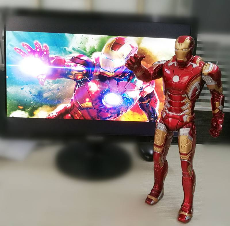 Marvel Character Figurines Plastic Action Figurine Hero Ironman