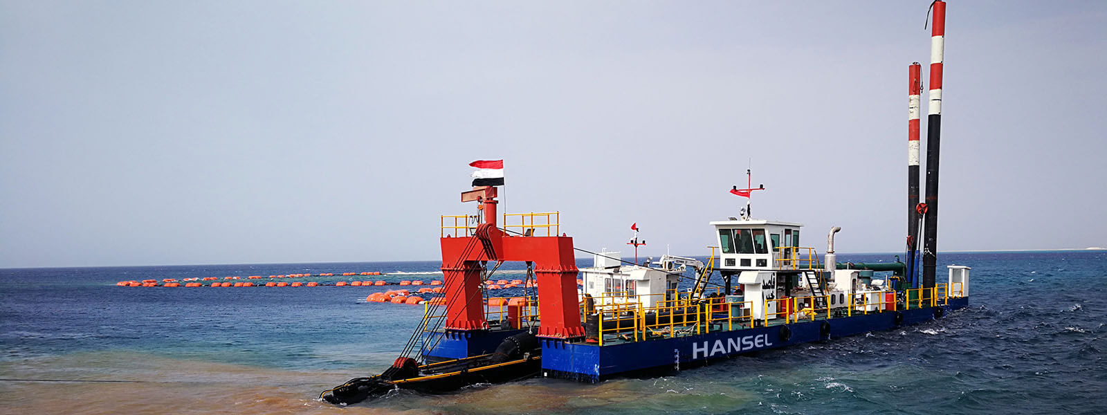 H550 Cutter Suction Dredger