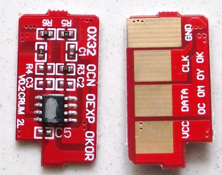 samsung toner chip of SML1660(SML1666)