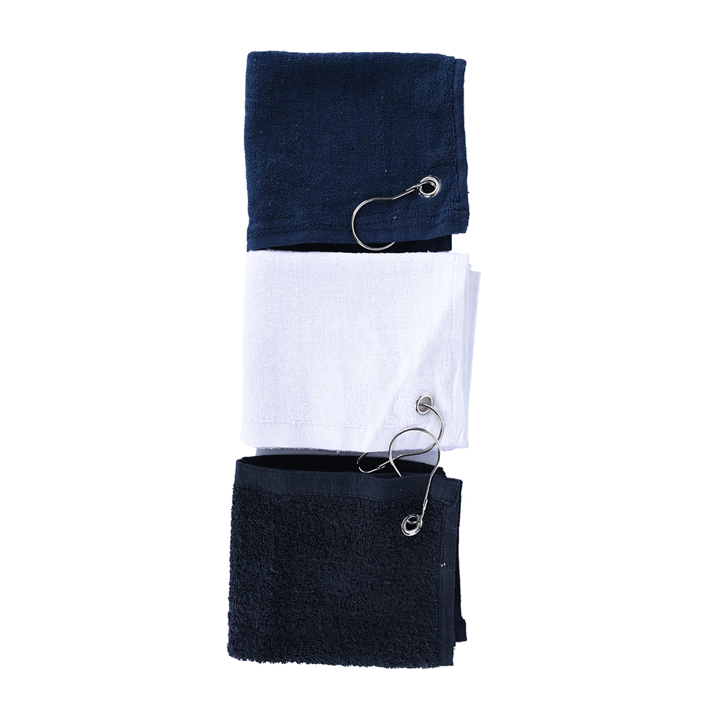 2018 New Hot Selling Genuine 100% Cotton or Microfiber Fabric Golf Towel