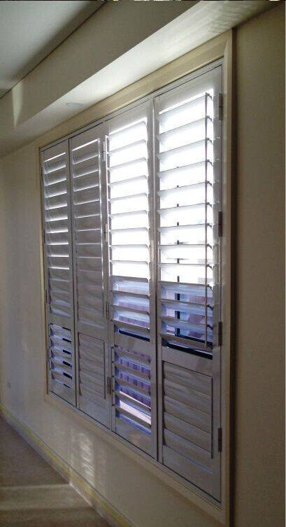 China supplier of Home Decor Good Quality new cheap basswood slat plantation shutters